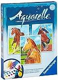 Toy - Ravensburger 29306 - Pferde - Aquarelle Midi, 18 x 24 cm