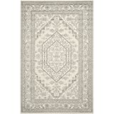 Safavieh Adirondack Collection ADR108B Ivory and Silver Area Rug, 10 feet by 14 feet (10' x 14')