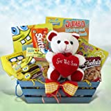 Spongebob Presents Candy and Activity Gifts for Kids Pefect Get Well Gift Basket