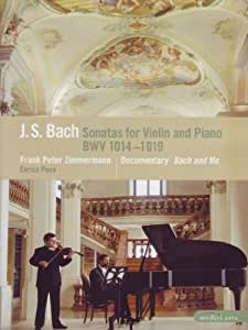 Frank Peter Zimmerman & Enrico Pace: J.S. Bach - Sonatas for Violin and Piano/Bach and Me (Bilingual) [Import]