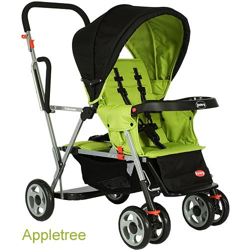 Cheapest Price! Joovy Caboose Stand On Tandem Stroller, Appletree