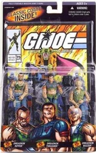 G.I. Joe Comic Pack mit Dreadnok Ripper, Dreadnok Thrasher & Dreadnock Buzzer – Classic Collection Actionfigurenset von Hasbro online kaufen