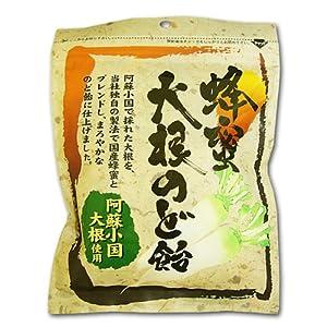 岩田 蜂蜜大根のど飴 120g