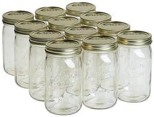 Kerr 0519 wide mouth jar quart, 32oz (case of 12)