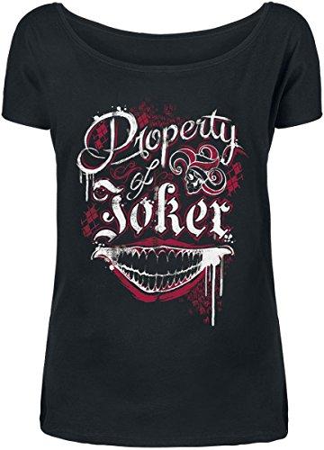 Suicide Squad Property Of Joker Maglia donna nero S