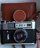 FED-5 USSR Soviet Union Russian 35 mm Rangefinder film camera Industar-61 L/D Lens …