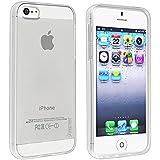 Off-Element Clear Gel TPU Flex Slim Soft Case for Apple iPhone 5 5G - Clear