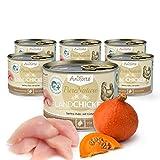 AniForte® PureNature 6x200g Katzenmenü getreidefrei Land Chicken Katzenfutter Nassfutter- Naturprodukt