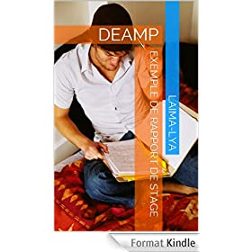 Exemple de Rapport de Stage: DEAMP