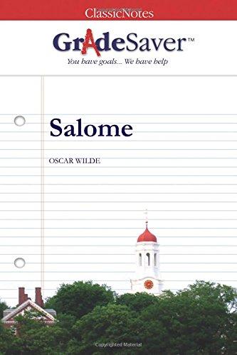 GradeSaver(tm) ClassicNotes Salome