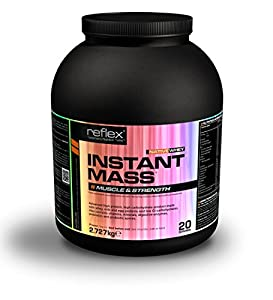 Reflex Nutrition 2.727kg Strawberries & Cream Instant Mass PRO