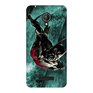 Future Knight Multicolor Back Case Cover for Micromax Canvas Spark Q380