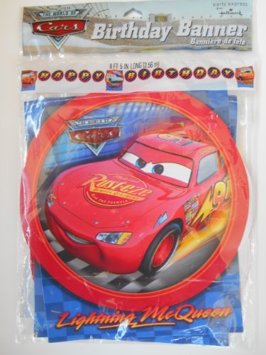 Disney Pixar Cars Birthday Banner - 1