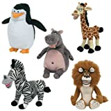 TY BEANIE BABIE MADAGASCAR SET OF 5by Ty