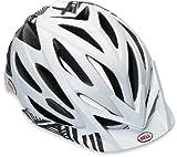 Bell Variant Matt White / Black Lines Small Helmet