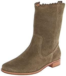 Jack Rogers Women's Carly Suede Slouch Boot,Olive,7 M US