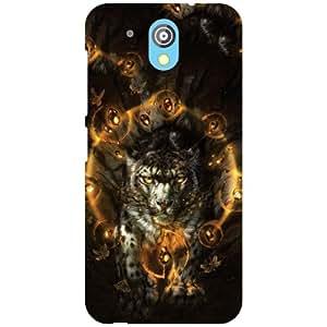 HTC Desire 526G Plus Back Cover - Tiger Designer Cases