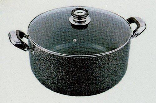 8 5qt Concord Aluminum Non Stick Sauce Stock Pot Casserole