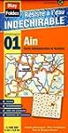 Ain (01) carte d�partementale adminis...