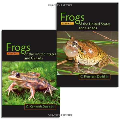 Frogs of the United States and Canada, 2-vol.