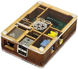 Pibow Raspberry Pi Case (Pibow Timber)