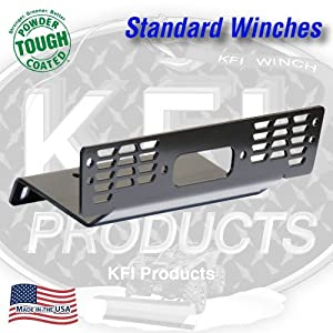 KFI Products 100760 Winch Mount for Polaris Ranger Diesel 500 XP and HD 700/800 4x4 by KFI Products