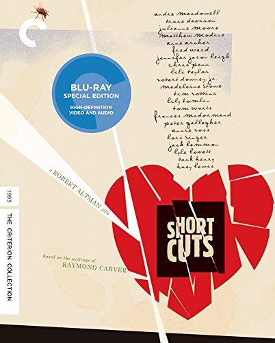 Blu-ray : Short Cuts (Criterion Collection) (4K Mastering, Special Edition, Restored, Digital Theater System, AC-3)