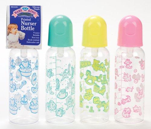 Printed Nurser Bottle (Colors May Vary)