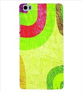 ColourCraft Colour Pattern Back Case Cover for XIAOMI MI 5