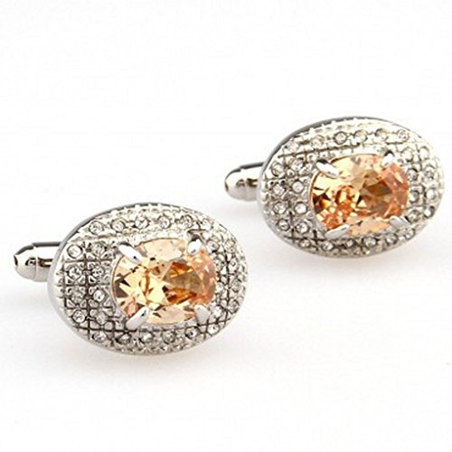 Magic Necklace Cufflinks For Men Or Women Designs TZG06393 Stone Cufflink 1 Pair