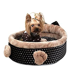 Pinkaholic elfish house dog bed in color - Designer pet beds small dogs ...