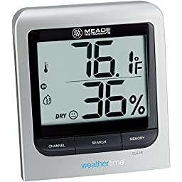 Meade Instruments TM005X-M Wireless Indoor/Outdoor Thermo Hygrometer