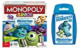 Monsters University - Junior Monopoly & Top Trumps - Combo Deal