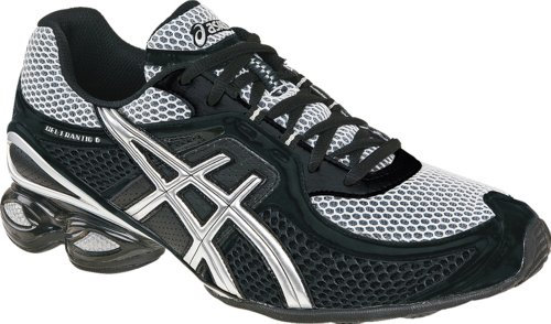 ASICS Men's GEL-Frantic 6 Running Shoe,Black/Onyx/Lightning,10 M US