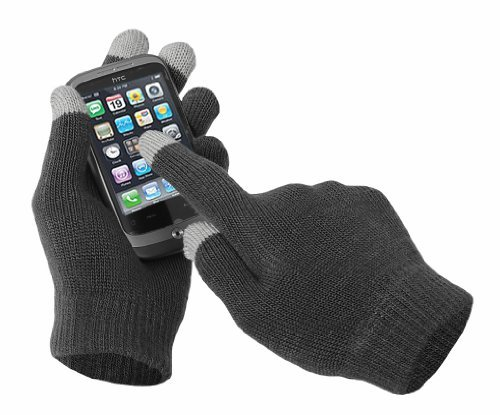 Mens Touch Screen Gloves for iPhone, iPad, Blackberry,