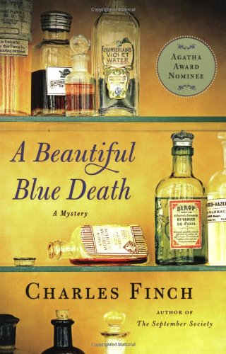A Beautiful Blue Death (Charles Lenox Mysteries)