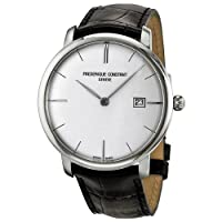 Frederique Constant Men's FC306S4S6 Slim Line Slim Line Mens Silver Dial Automatic Watch Watch from Frederique Constant