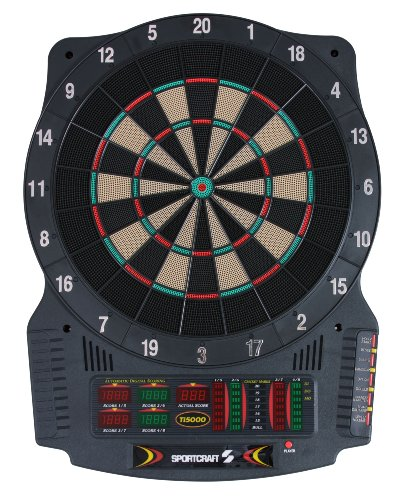 Sportcraft Ti50000 Platinum Series Electronic Dartboard