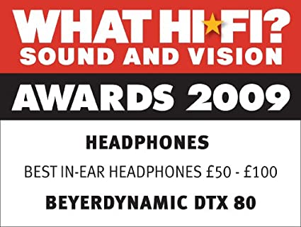 Beyerdynamic DTX80 In-Ear Headphones