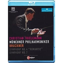 Symphonies Nos 4 & 7 [Blu-ray]