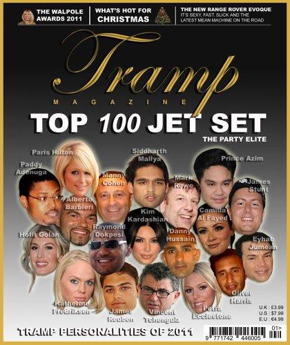 Tramp Magazine - Top 100 Jet Set Socialites (2012)