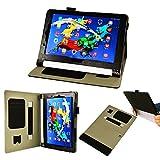 【3点セットフィルム1枚タッチペン付】 Lenovo タブレット YOGA Tablet 2 8.0型 with Windows & android 兼用オートスリープ機能付 マグネット開閉式 分離式多機能ケース カバーver2