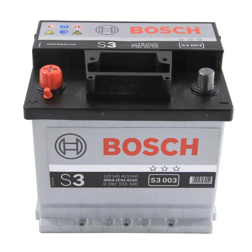 Bosch S3 Car Battery Type 077 With 3 Year Manufacturers Warranty