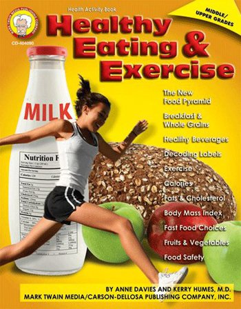 Quality Healthy Eating And Exercise By Carson Dellosa