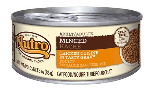 NUTRO Minced Adult Wet Cat Food, Chicken, 3 oz. (Pack of 24) (Wet Cat Food Grain Free compare prices)