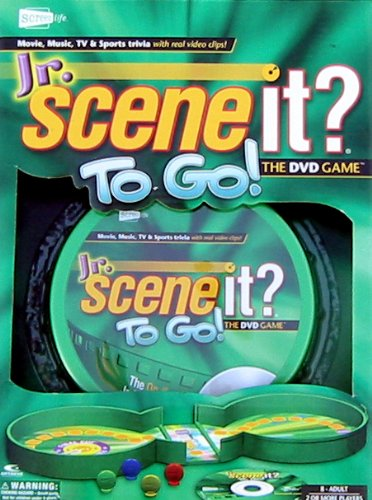Jr. Scene It? To Go-The DVD Game