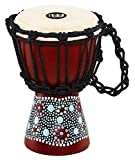 MEINL Percussion マイネル ミニジャンベ African Style Mini Djembe HDJ8-XXS Flower Design 【国内正規品】