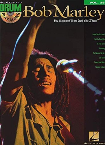 Drum Play Along Vol.25 Marley Bob CD