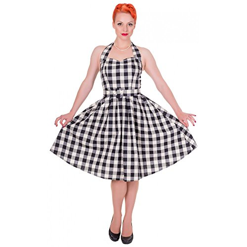 Dolly and Dotty -  Vestito  - Donna Nero/Bianco 10