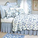 Brighton Blue Toile Twin Quilt